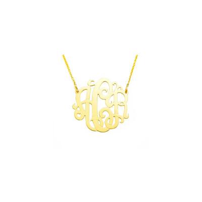 18YMono085 - 18K Yellow Gold 0.85