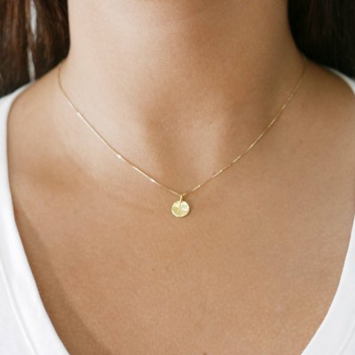 18k gold necklace. Initial pendant. Letter charm necklace. Personalized necklace. Gold pendant necklace. initial necklace.Gift ideas