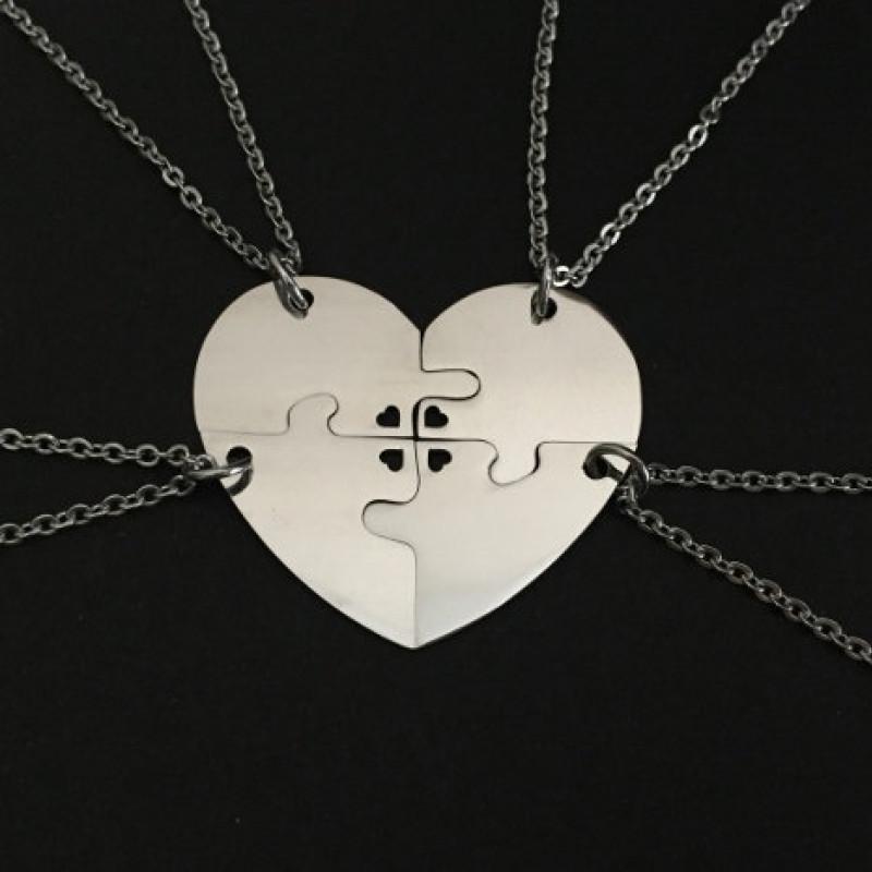 LOVE Puzzle Piece Necklace