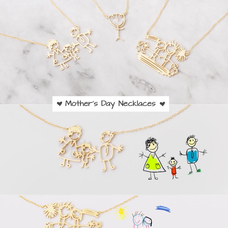 Children Artwork Necklace