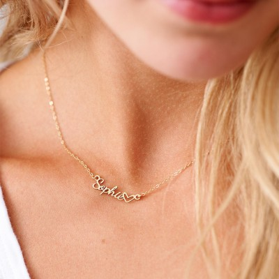 96d5e5ae3674a Custom Persian Name Necklace, Personalized Arabic Name Necklace ...