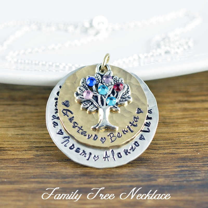 Family Tree Necklace Of Life