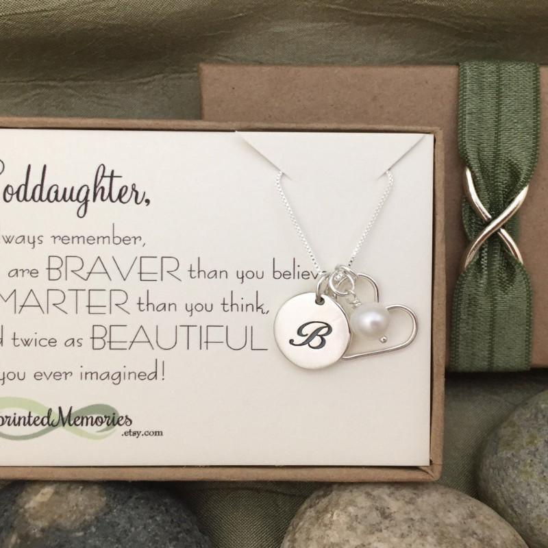 First Communion Gift For GODDAUGHTER Baptism Goddaughter Necklace