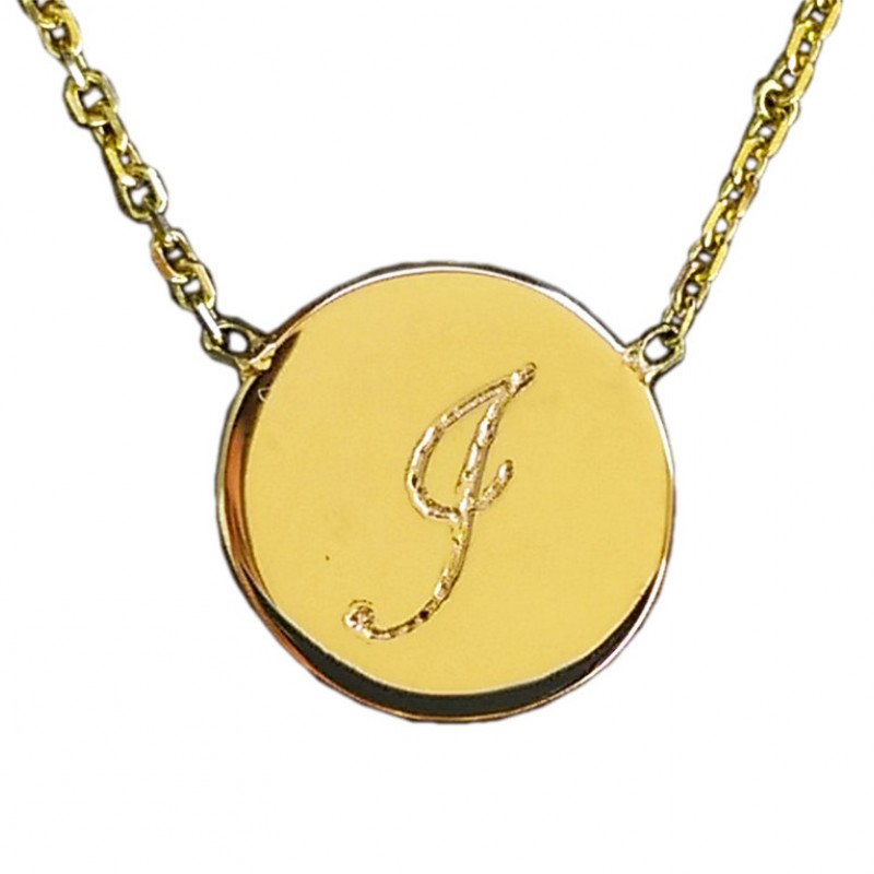 Gold disc necklace initial disc necklace 14k solid gold pendant gold disc necklace initial disc necklace 18k solid gold pendant layered gold necklace personalized gift disc pendant jewelry gifts aloadofball Gallery