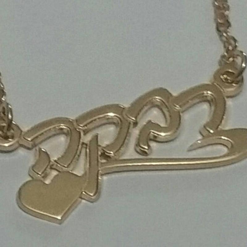 Hebrew name necklace, Hebrew jewelry, Hebrew necklace, Hebrew name, personalized necklace, Jewish gifts, Jewish presents, ...