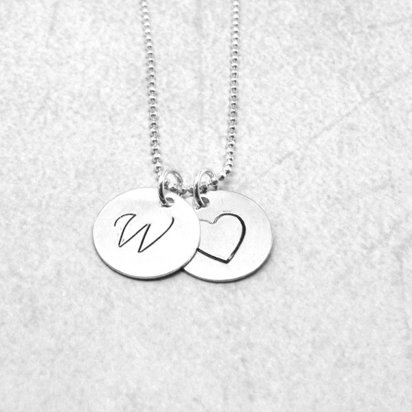 Large initial heart necklace sterling silver initial necklace large initial heart necklace sterling silver initial necklace letter w necklace letter w pendant heart necklace charm necklace aloadofball Images