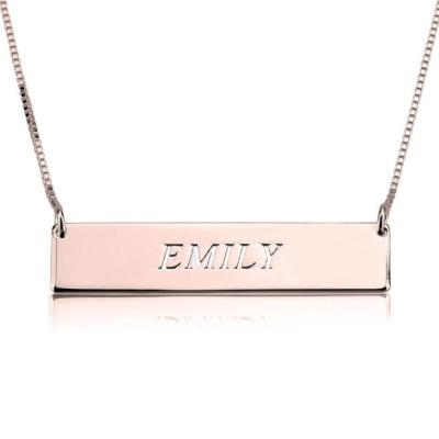 MADISON Horizontal Bar Necklace