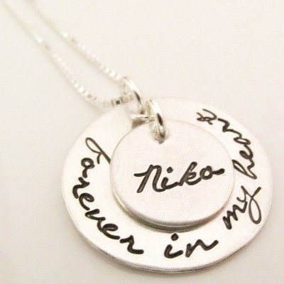 Memorial Gift - Forever in our Heart Necklace