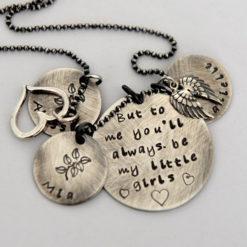 Mom Necklace Mother/'s Day Gift from Baby Girl Mothers Day Mother Necklace Jewelry for Mom First Mothers Day Mom Gift Daughter Gift