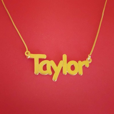 My Namenecklace Gold Name Pendant Designs The Gift Name Necklace 18k Gold Name Necklace Gold Name Necklace Custom Name Necklace Designs
