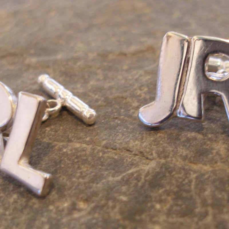Personalised Sterling Silver Name or Initial Necklaces and