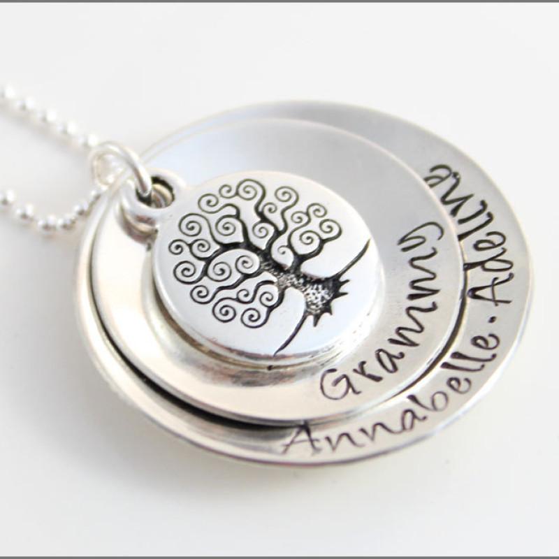 personalized gifts for grandma custom grandma necklace