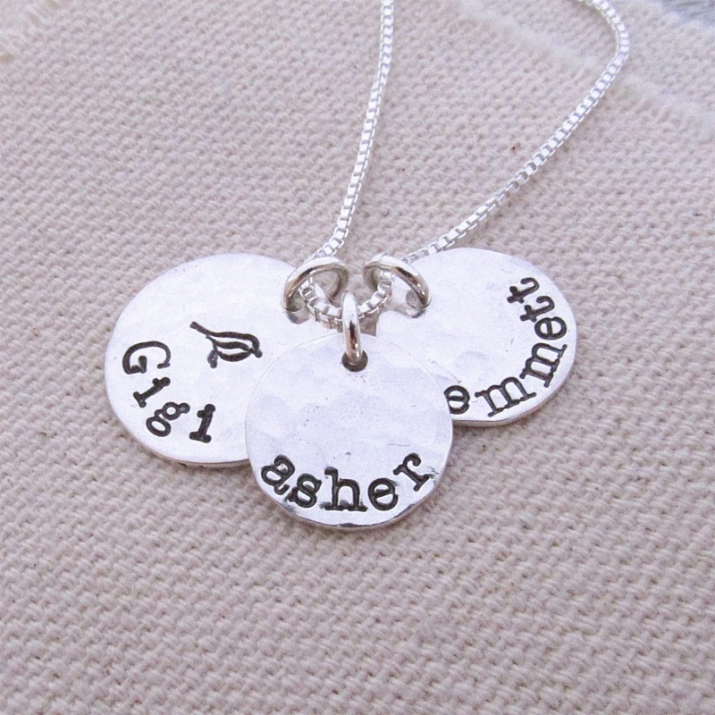 98fdd4c2e Personalized Jewelry - Gigi Necklace - Grandmother Jewelry - Name Necklace  for Grandma