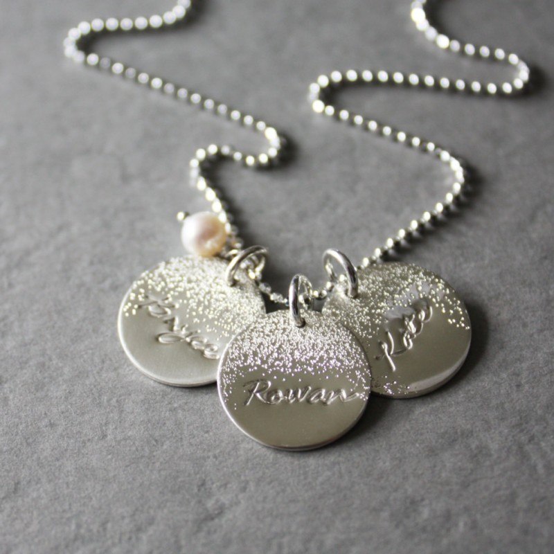 Name Necklace Personalized necklace Pendants Grandmother Gift Mom gift Mother/'s Gift for Mom