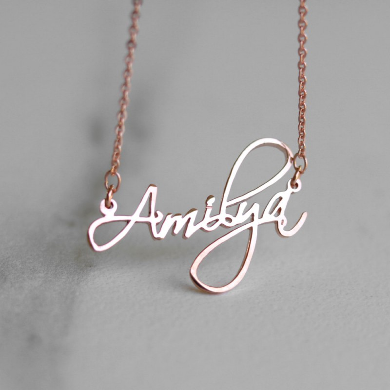 Name Necklace Personalized Jewelry Bridesmaids Gift Custom Bar Necklace Initial Necklace Personalized Gift Custom Name Necklace