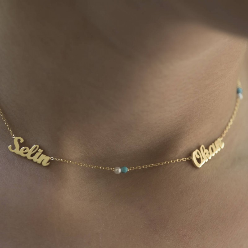 Names Necklace   Personalized Gift