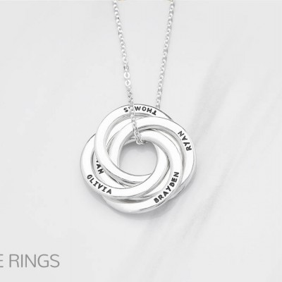 Grandmother jewelry • Grandma birthday gift • Engraved necklace for mom • Jewelry for mom • Mother-in-law gift