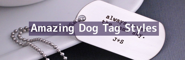 Dog Tag Jewellery