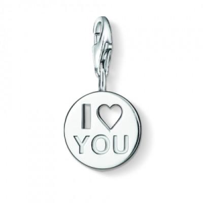 Personalised I Love You Charm - AMAZINGNECKLACE.COM