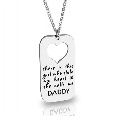 Personalised Additional Stolen Heart - AMAZINGNECKLACE.COM