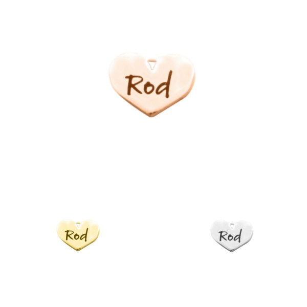 Personalised Heart Charm - Dream Locket - AMAZINGNECKLACE.COM