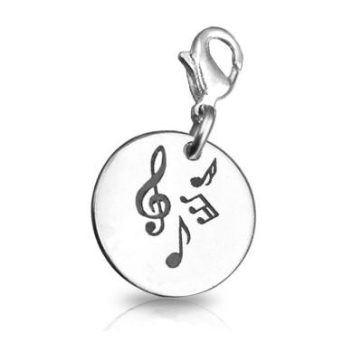 Personalised Music Charm - AMAZINGNECKLACE.COM