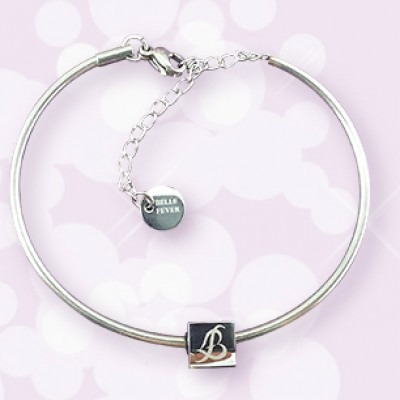 Personalised  Charm Bangle - AMAZINGNECKLACE.COM
