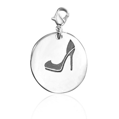 Personalised Shoe Lover Charm - AMAZINGNECKLACE.COM