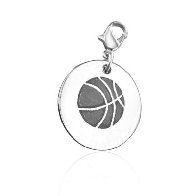 Personalised Basketball Charm - AMAZINGNECKLACE.COM
