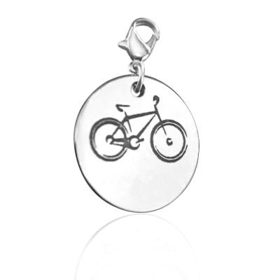 Personalised Bike Charm - AMAZINGNECKLACE.COM