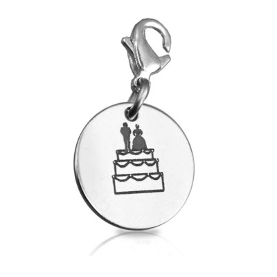 Personalised Bride n Groom Charm - AMAZINGNECKLACE.COM
