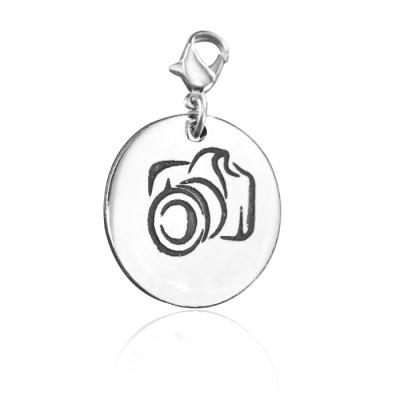Personalised Camera Charm - AMAZINGNECKLACE.COM
