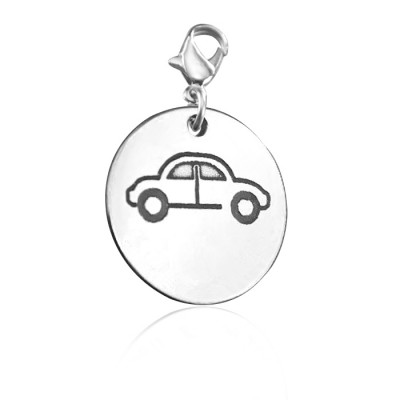 Personalised Car Charm - AMAZINGNECKLACE.COM