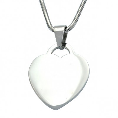 Personalised Heart of Necklace - AMAZINGNECKLACE.COM