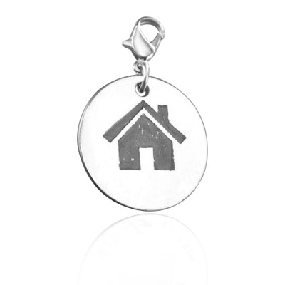 Personalised Home Charm - AMAZINGNECKLACE.COM