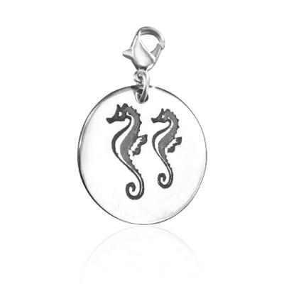 Personalised Seahorse Charm - AMAZINGNECKLACE.COM