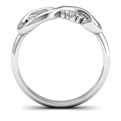 2013 Infinity Personalised Ring - AMAZINGNECKLACE.COM