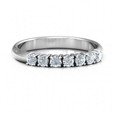 Band of Eternity Personalised Ring - AMAZINGNECKLACE.COM