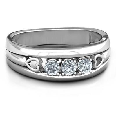 Devotion Personalised Ring - AMAZINGNECKLACE.COM