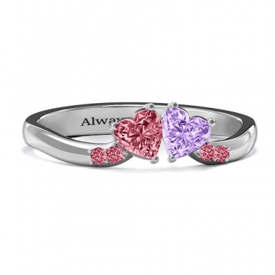 Follow Your Heart Personalised Ring - AMAZINGNECKLACE.COM