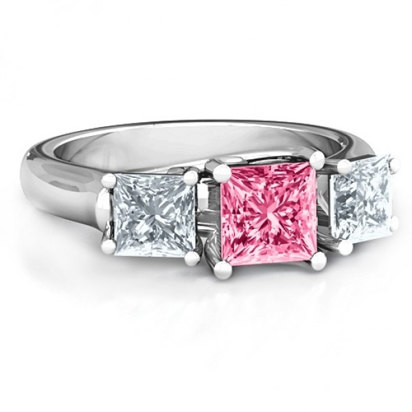Grand Princess Personalised Ring - AMAZINGNECKLACE.COM