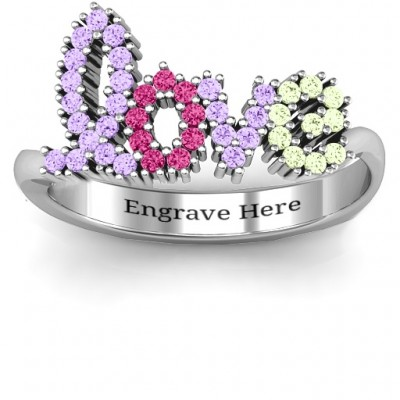 Love Spell Personalised Ring - AMAZINGNECKLACE.COM