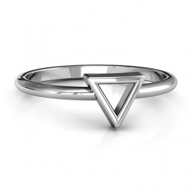 Your Best Triangle Personalised Ring - AMAZINGNECKLACE.COM