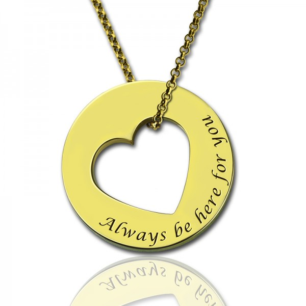 Always Be Here For You Promise Personalised Necklace - AMAZINGNECKLACE.COM