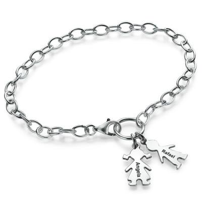 Mum Charm Personalised Bracelet/Anklet - AMAZINGNECKLACE.COM