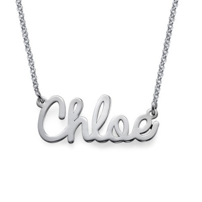 Personalised Stylish Name Necklace In Silver/Gold/Rose Gold - AMAZINGNECKLACE.COM