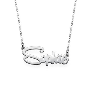 Say My Name Personalised Necklace - AMAZINGNECKLACE.COM