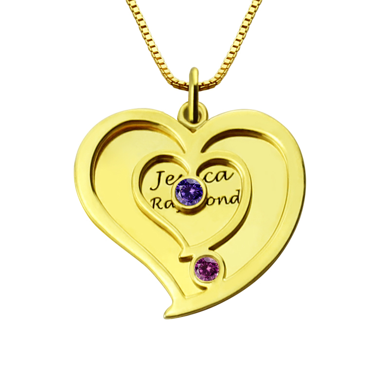 "Women/'s 18ct Gold Plated ""Mum"" Diamond Heart Shaped Chain//Necklace /& Pendant Set"