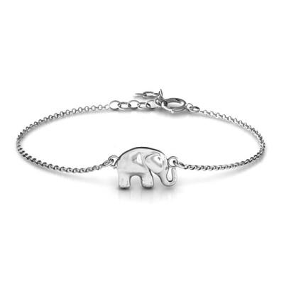 Personalised Lucky Elephant Bracelet - AMAZINGNECKLACE.COM