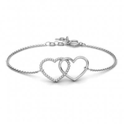 Personalised Opposites Attract Bracelet - AMAZINGNECKLACE.COM